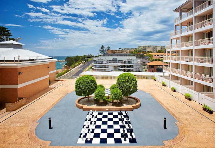 Comfortable Double Bed At Terrigal