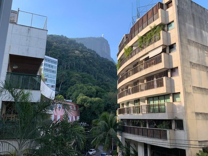 Bucolic + tropical forest view in Jardim Botânico