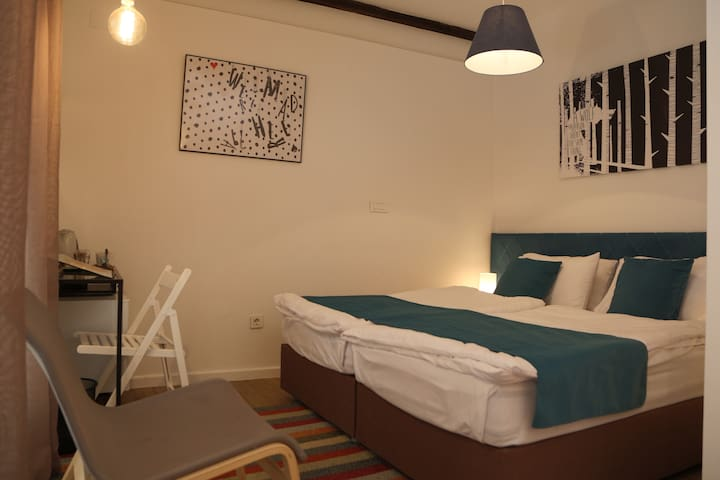 Bohemian quarter Double Room