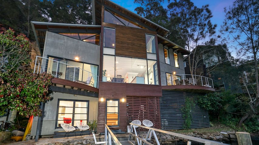 Berowra Waters Glass House - Berowra Waters - Bed & Breakfast