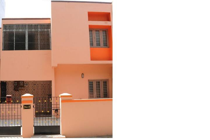 Cozy Townhouse In Ashok Nagar, near everywhere - Chennai - Hus