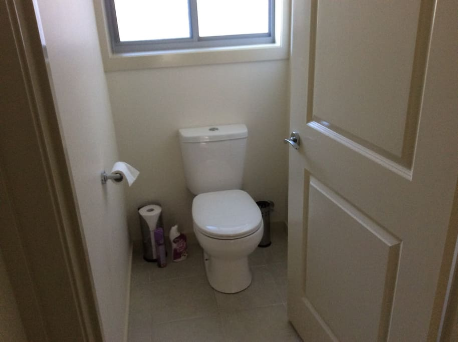 Private toilet.