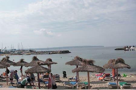 Jättefin lägenhet, utsikt o strand - Can Pastilla Palma de Mallorca
