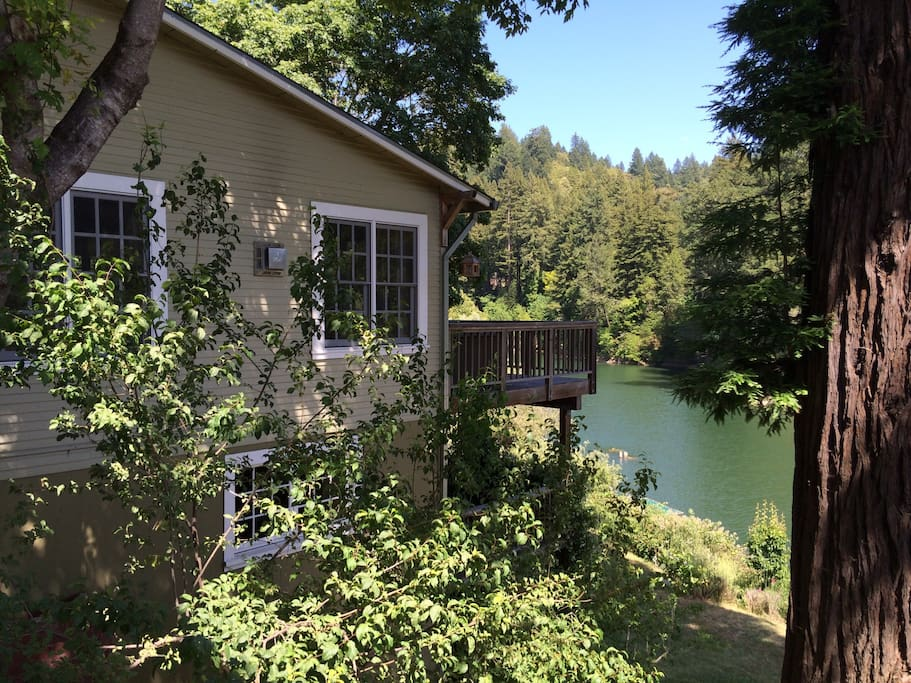 Hydrangea House Cottages For Rent In Guerneville
