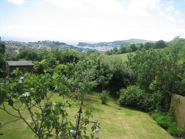 Great views & great bedroom -superb - Teignmouth - Rumah