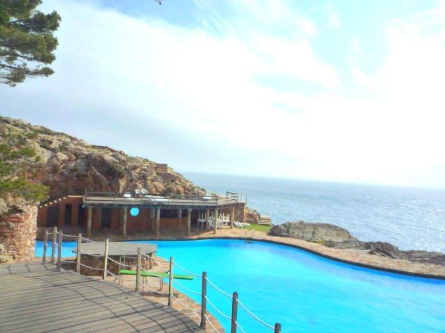 Apartamento en un bonito Complejo al lado del mar - D'Aiguafreda