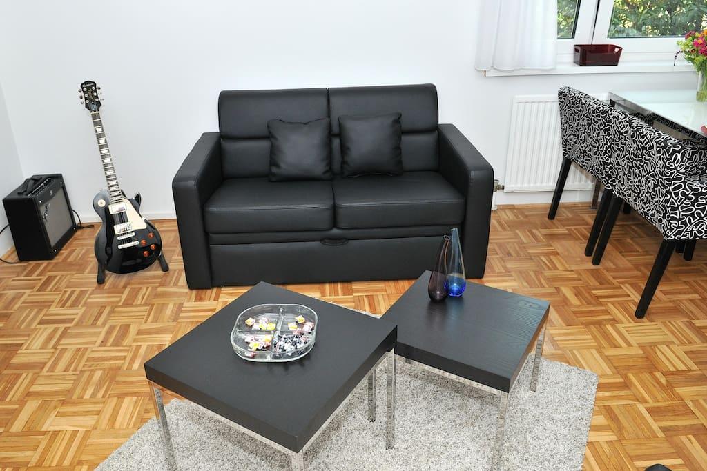 Sitting area-sofa bed