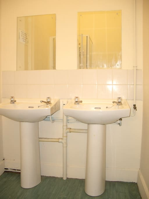 Shared shower rooms