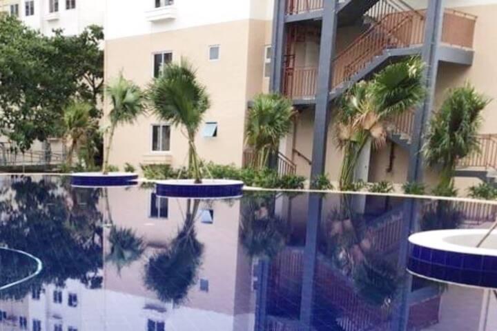 Fully-furnished Budget Condo @ Amaia Steps Nuvali
