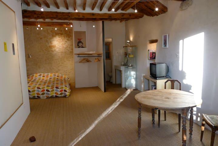 Studio au centre de Forcalquier - Forcalquier - Apartamento