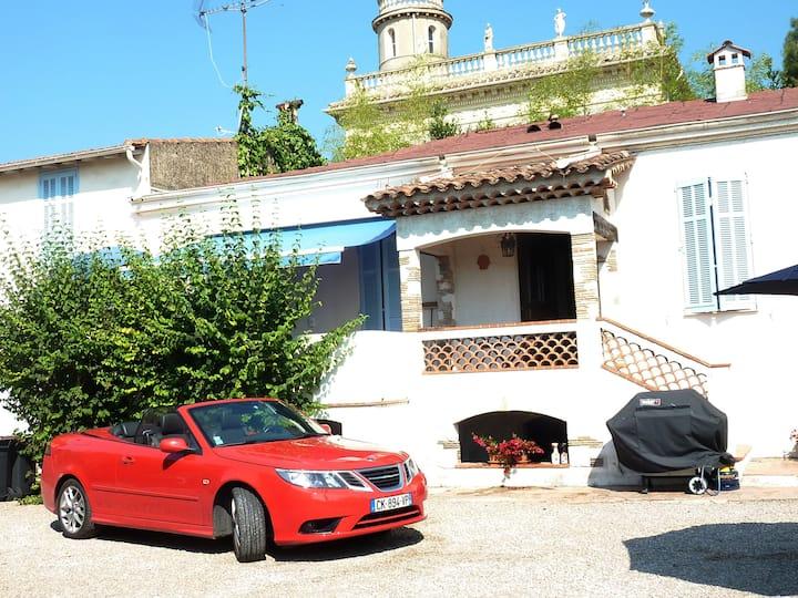 Maison provençale près de la plage 7 personnes