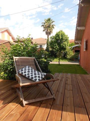 Appart sympa et jardin Sud  Landes  - Saint-Vincent-de-Tyrosse - Apartamento
