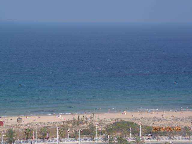 Con vistas playa Arenales del Sol - Los Arenales del Sol - Byt