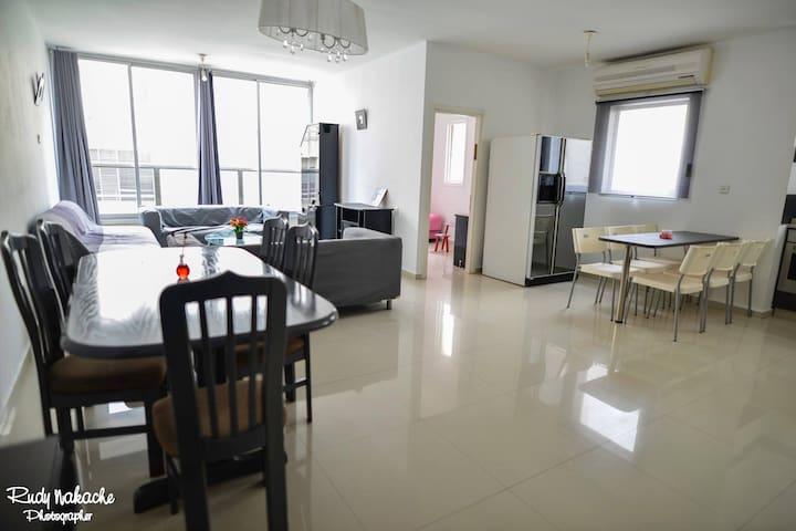 Grand 4 pièces de 110m2 bien situé - Netanya - Apartemen