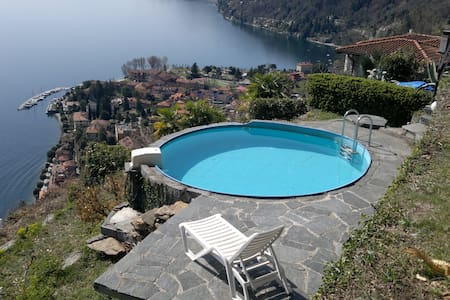 Apartement, Pool, Garden, Lake view - Cannero Riviera - Apartment - 2