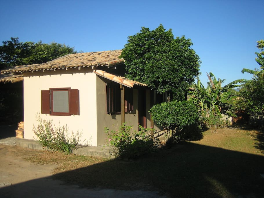 THE CHALET IS IN THE MIDDLE OF 6.000 M2 OF WALLED PRIVATE PROPERTY - FULL OF FRUIT TREES