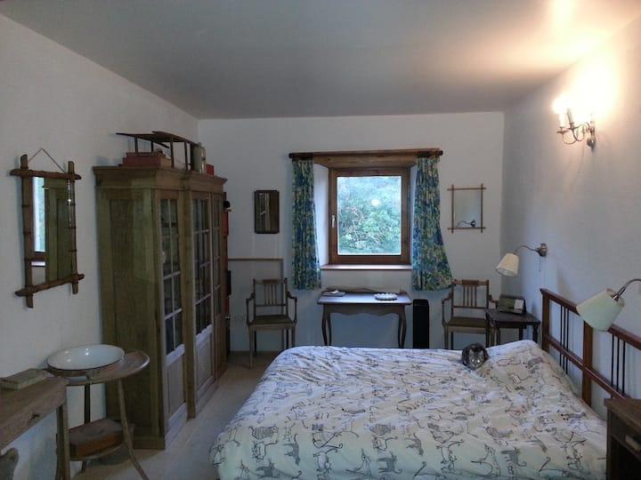 Chambre dans un coin de nature