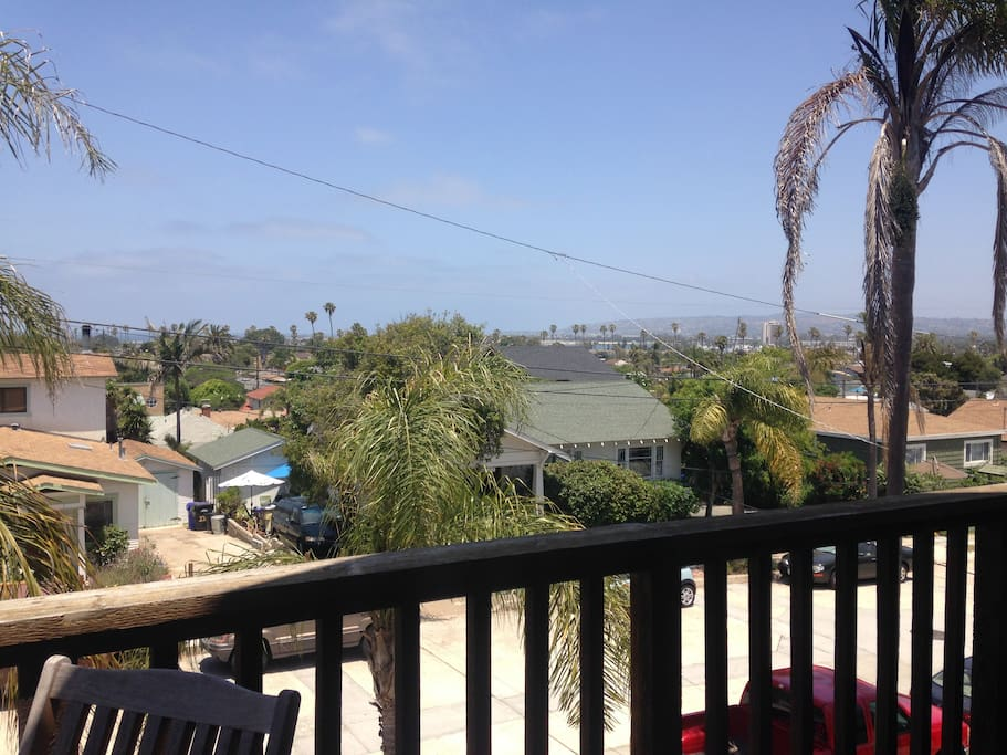 View of PB and La Jolla from Front Balcony