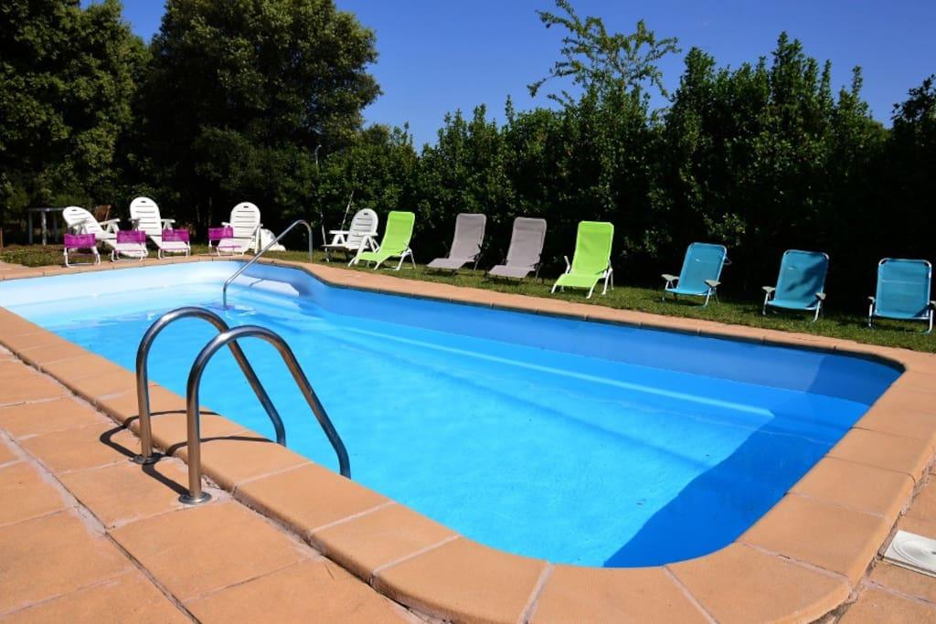 La nostra piscina/nuestra piscina