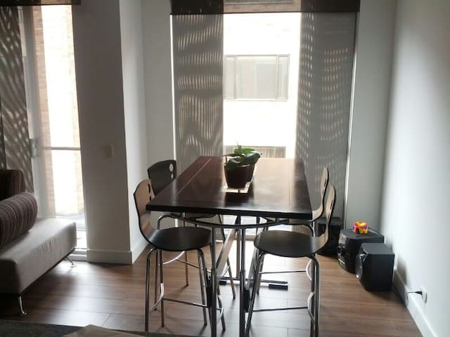 Private room 10mins to T Zone - Bogota - Appartement