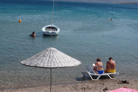 Room with a private bathroom  - Mordoğan - Bed & Breakfast