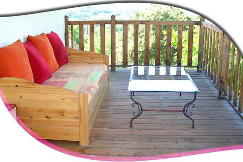 le toit terrasse de 40 m²