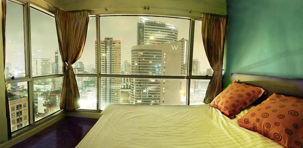 Central Bangkok with panoramic view - Bangkok - Apartemen