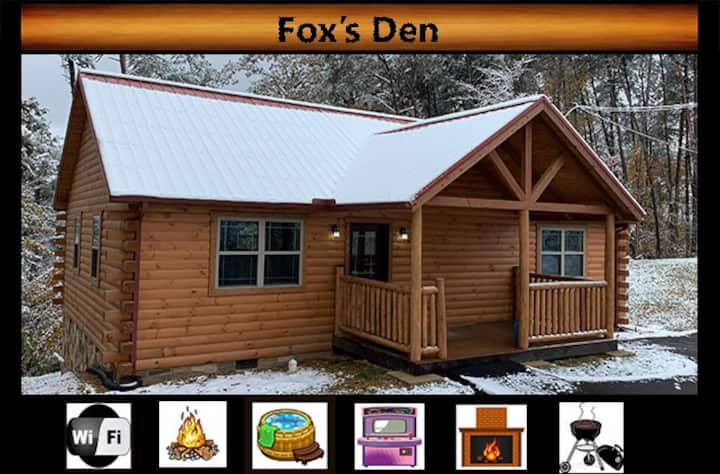 """Foxes' Den"" -  WiFi / Arcade Game / Hot Tub / Fire Pit"