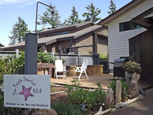 The Purple Starfish B&B - Campbell River - Bed & Breakfast