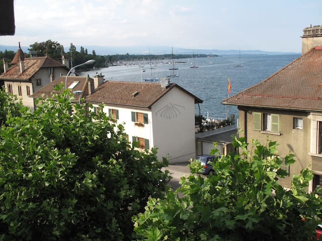 Lovely flat by Geneva lake  - Versoix - Apartamento