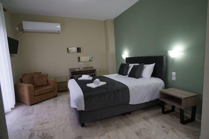 Στούντιο Μαγγανα πράσινο δωμάτιο