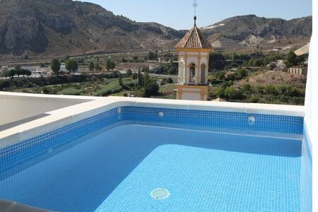 Lovely townhouse with stunning views in Cehegin