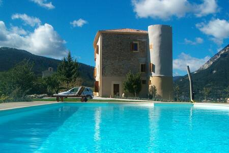 Luxury Templar Chateau in Provence - Saint-André-les-Alpes