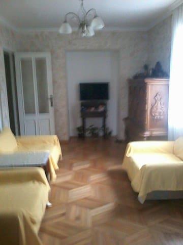 уютная квартира +вид с окна гори и море - Batumi