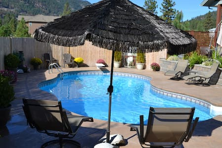 Poolside Retreat, Peachland - Peachland