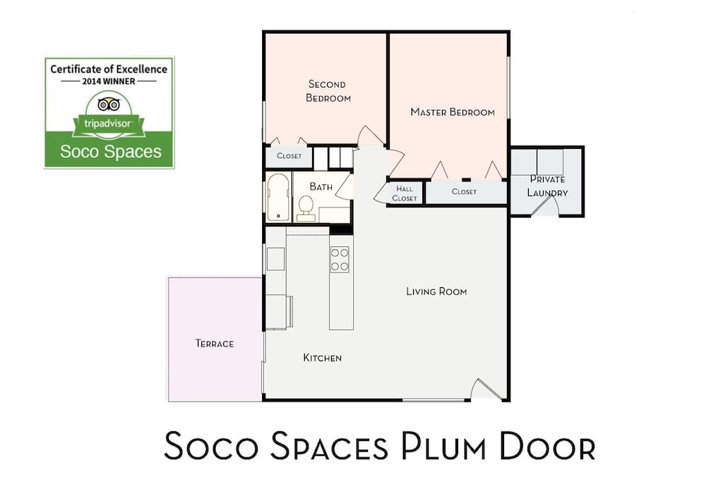 Soco Spaces: Plum Door floor plan