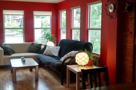 Sunny bedroom + balcony  Plateau!  - Montreal