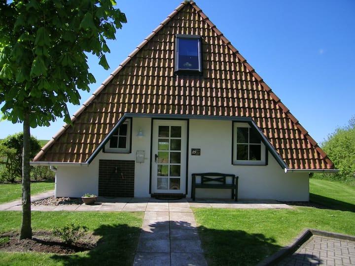 Nordsee: Ferienhaus direkt hinter'm Deich