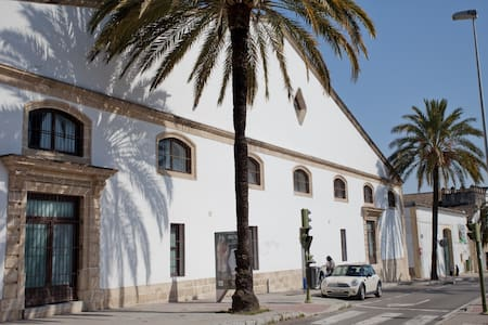JEREZ CENTER .LUX&HUGE LOFT+WIFI+PARKING+AIR COND. - Jerez de la Frontera - Loft