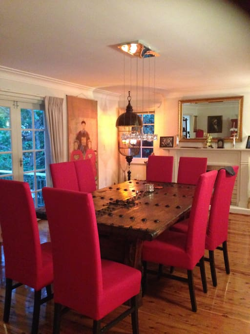 Dinning room, seats 8 comfortably and more if needed