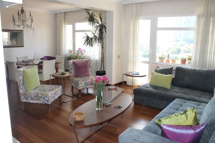 Charming-luxury home close to cntr - İstanbul - Daire