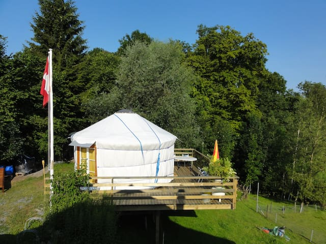 Swissyurt the special accommodation for natur pur - Bischofszell - Yurt
