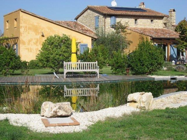 Ermitage Macchiabella Country House - Fratta Todina - อพาร์ทเมนท์