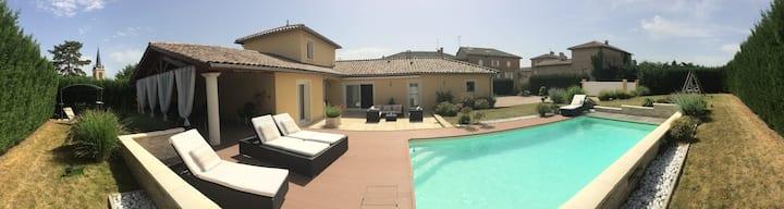 LAGOA VERDE 190 m2 + piscine