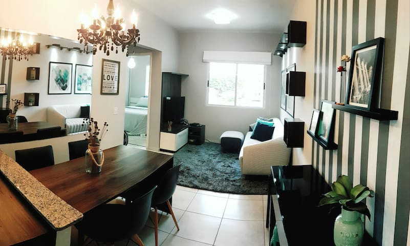 Apartament - design decoration in good location =) - São Carlos - Wohnung