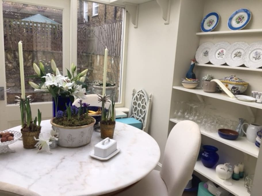 Dining room from Kitchen