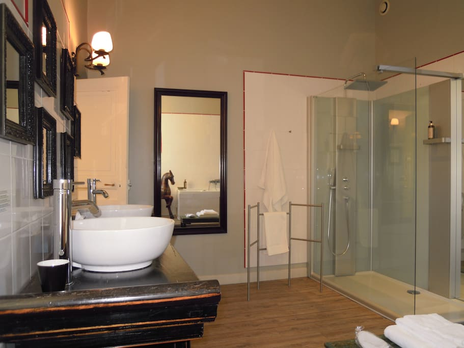 Chambre de l'Amiral - Salle de bain