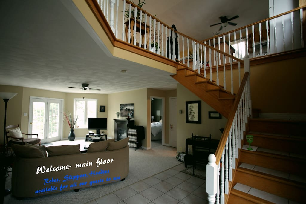 Main floor with all the amenities of home