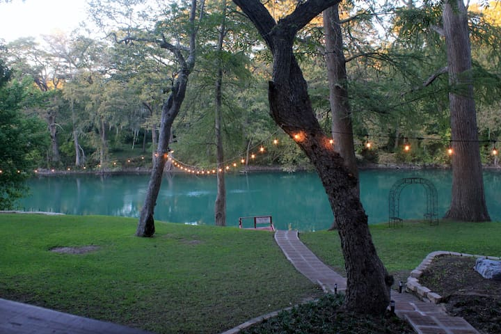 Gruene River Haven - On The Guadalupe - Sleeps 22
