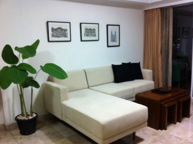 Full Furnish & Spacious Brawijaya Apt. for rent